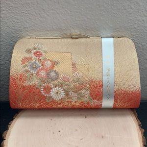 Vintage Kimono Japanese Clutch